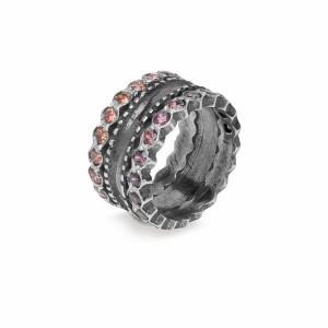 Anillo Platadepalo plata circon  - CR15