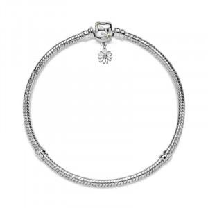 Pulsera Pandora plata circon y esmalte - 598776C01-18