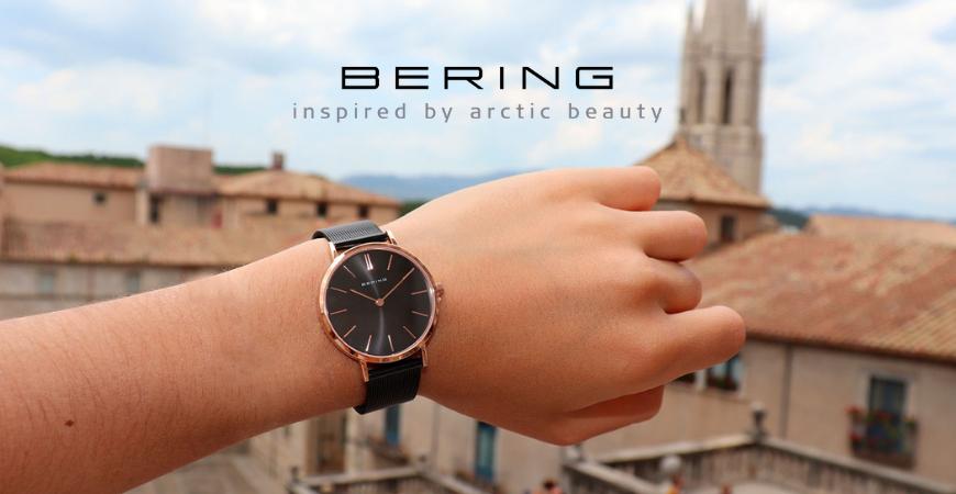 Bering, relojes de inspiración ártica