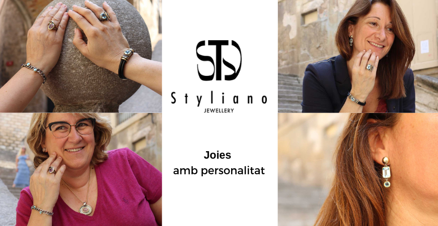 Gabriela Styliano, joyas con personalidad