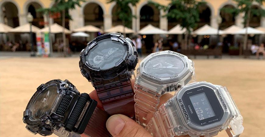 Casio G-shock, los relojes perfectos para tus aventuras