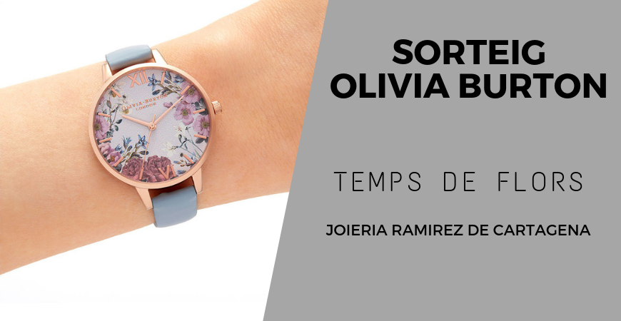 Temps de Flors amb Joieria Ramirez de Cartagena